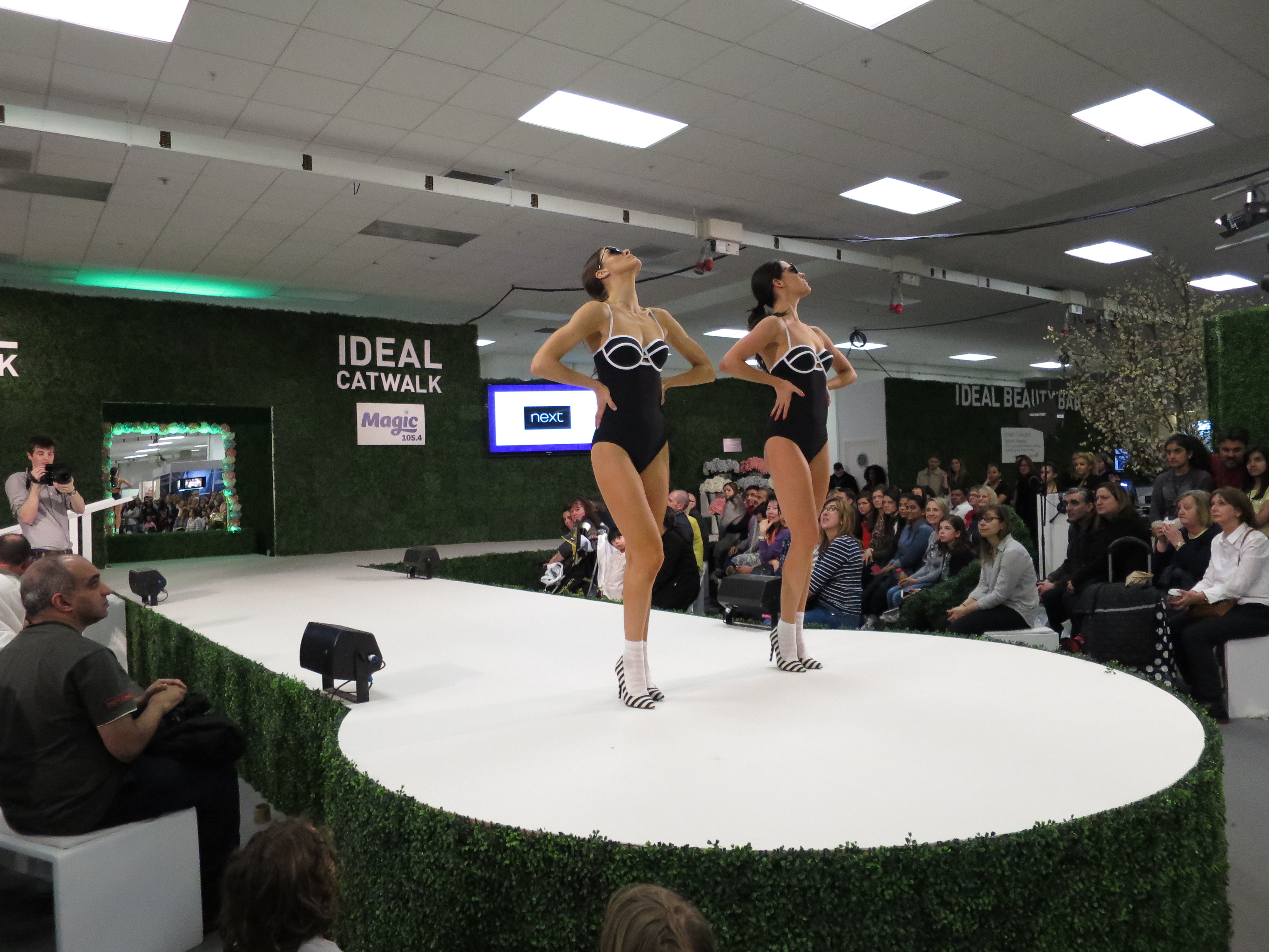 Catwalk at Ideal Home Show