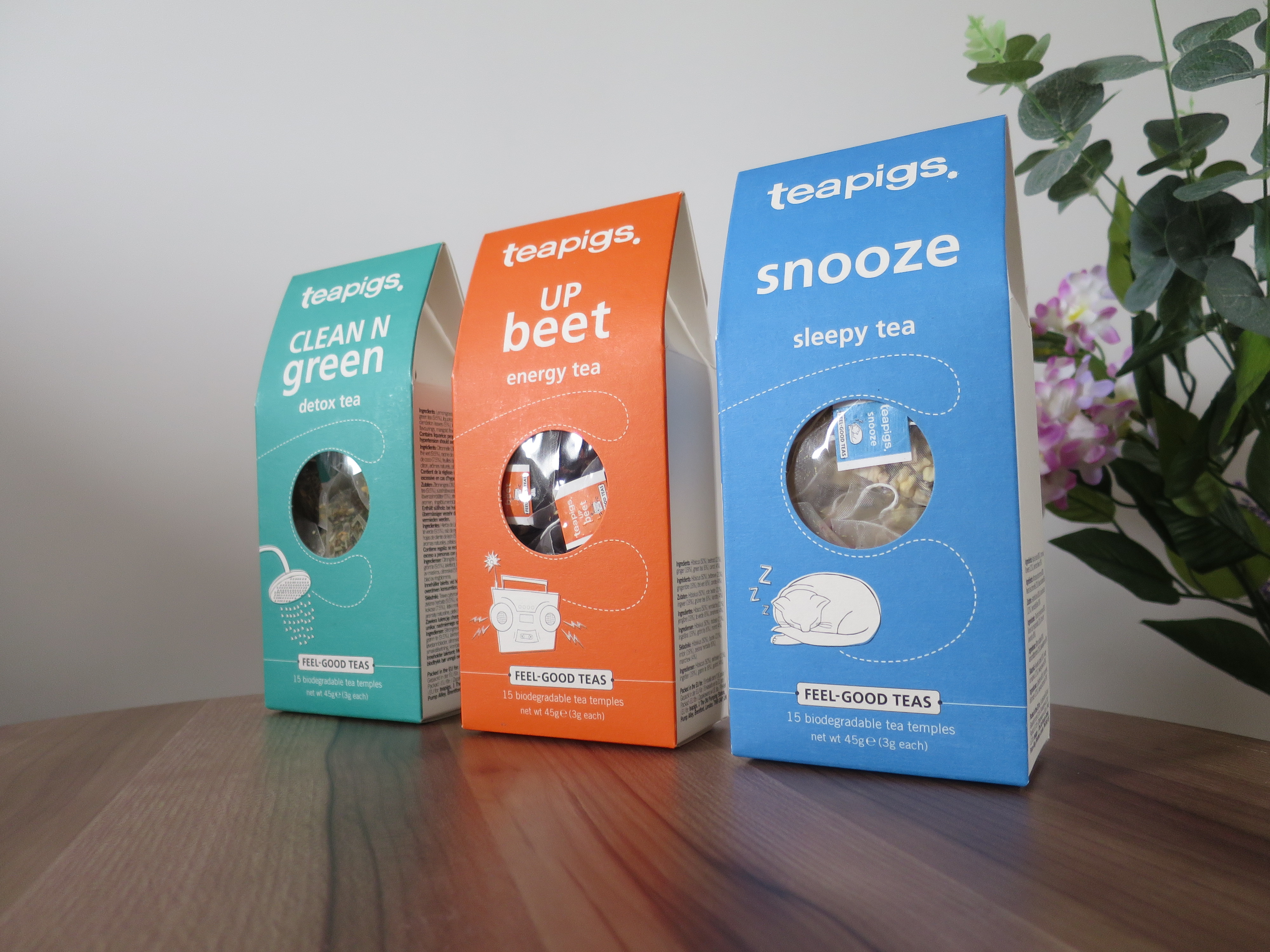 Tea Pigs Feel-Good Teas Review