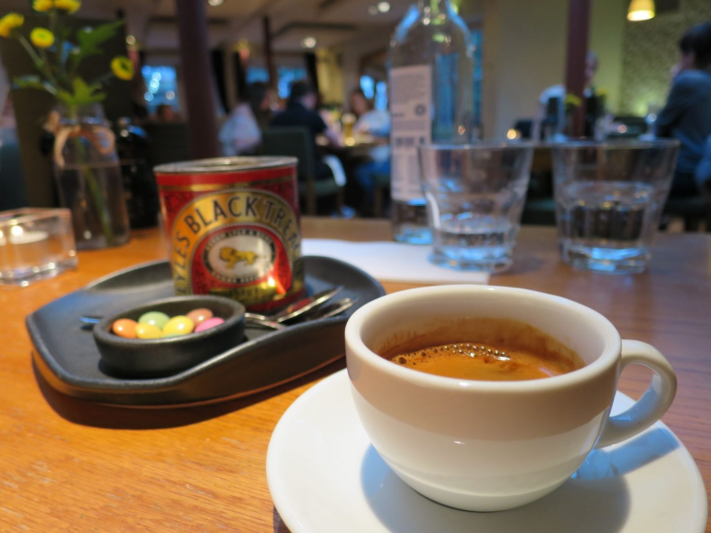 The Swan Salford Review - Espresso