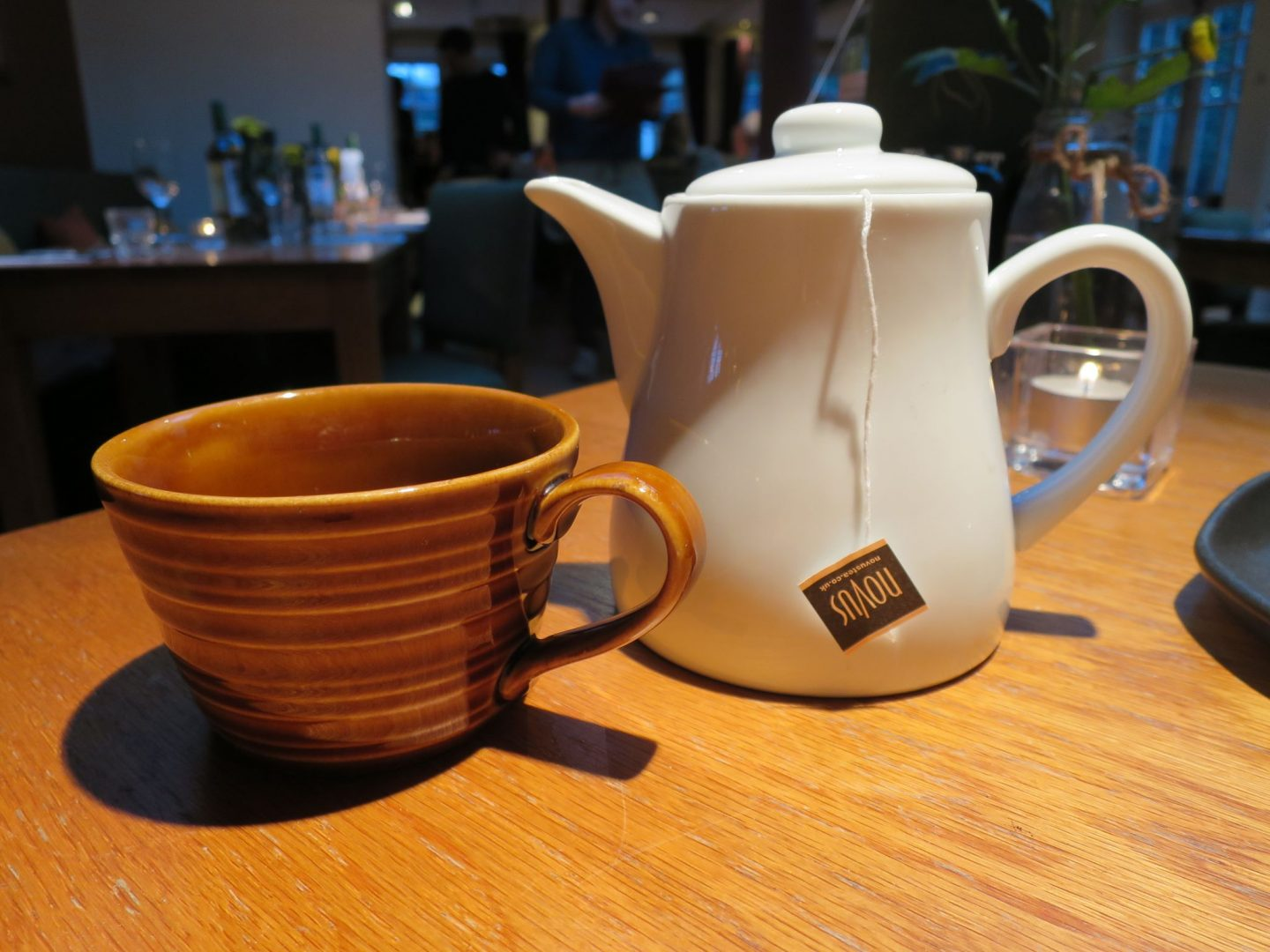 The Swan Salford Review - Peppermint Tea