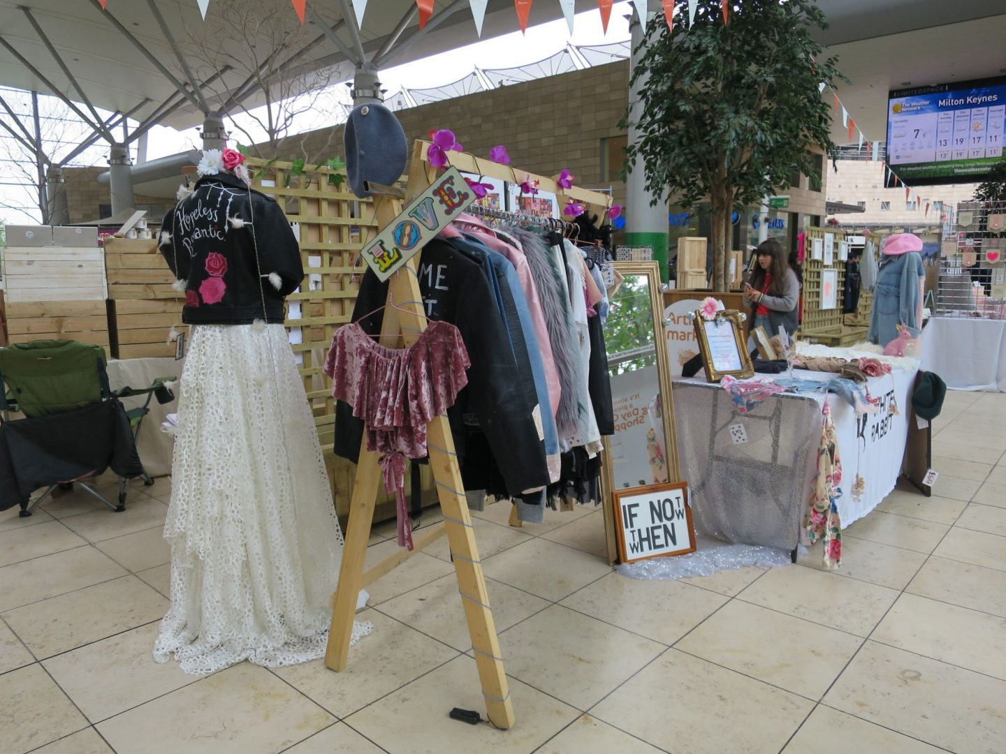 White Rabbit Fashion Artisan Market intu Milton Keynes