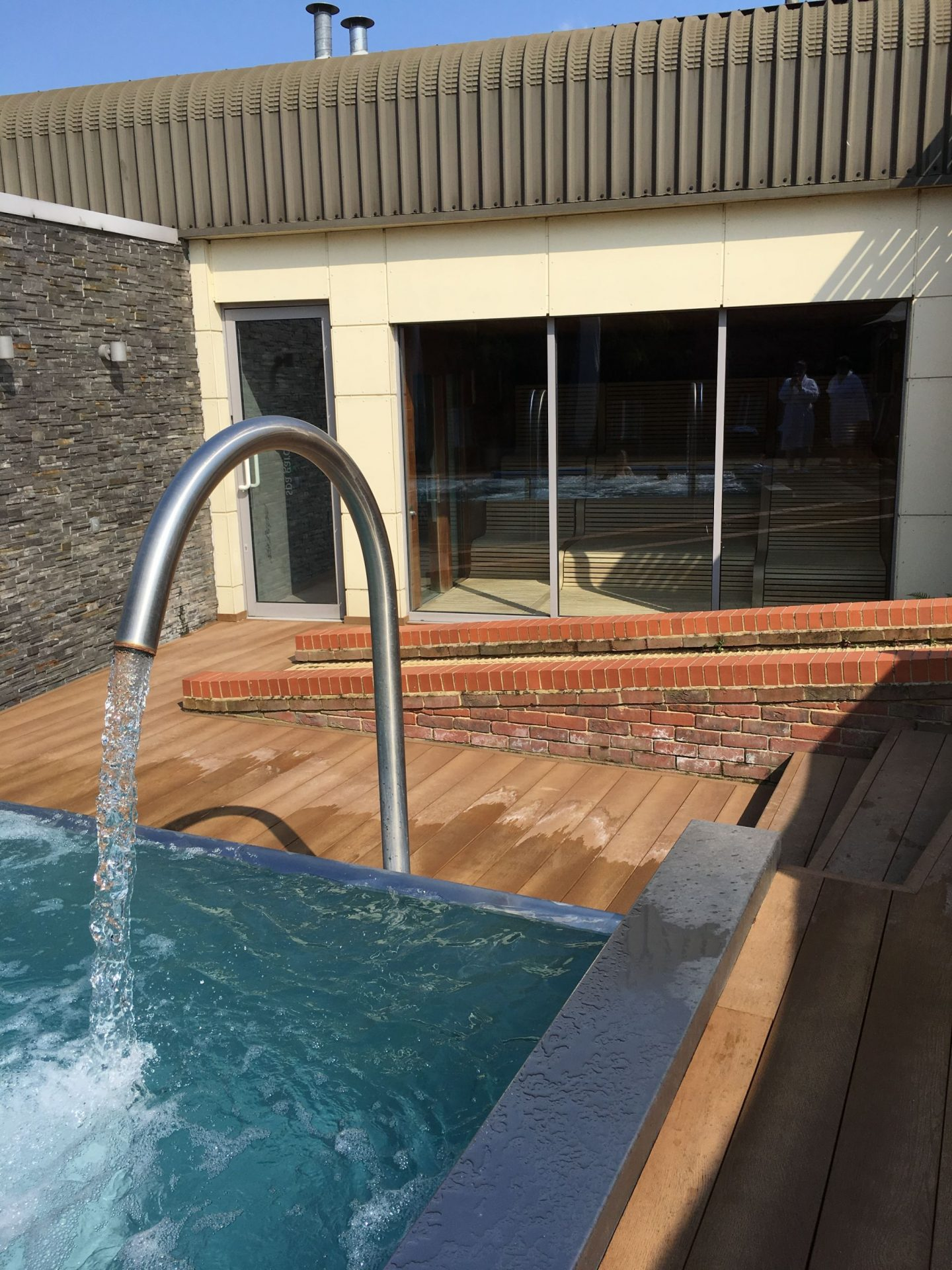 Wyboston Lakes Y Spa Review Hydrotherapy Pool