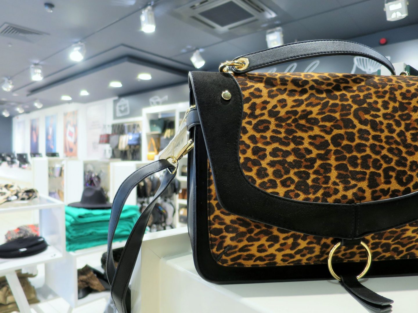 Leopard Print Bag from New Look