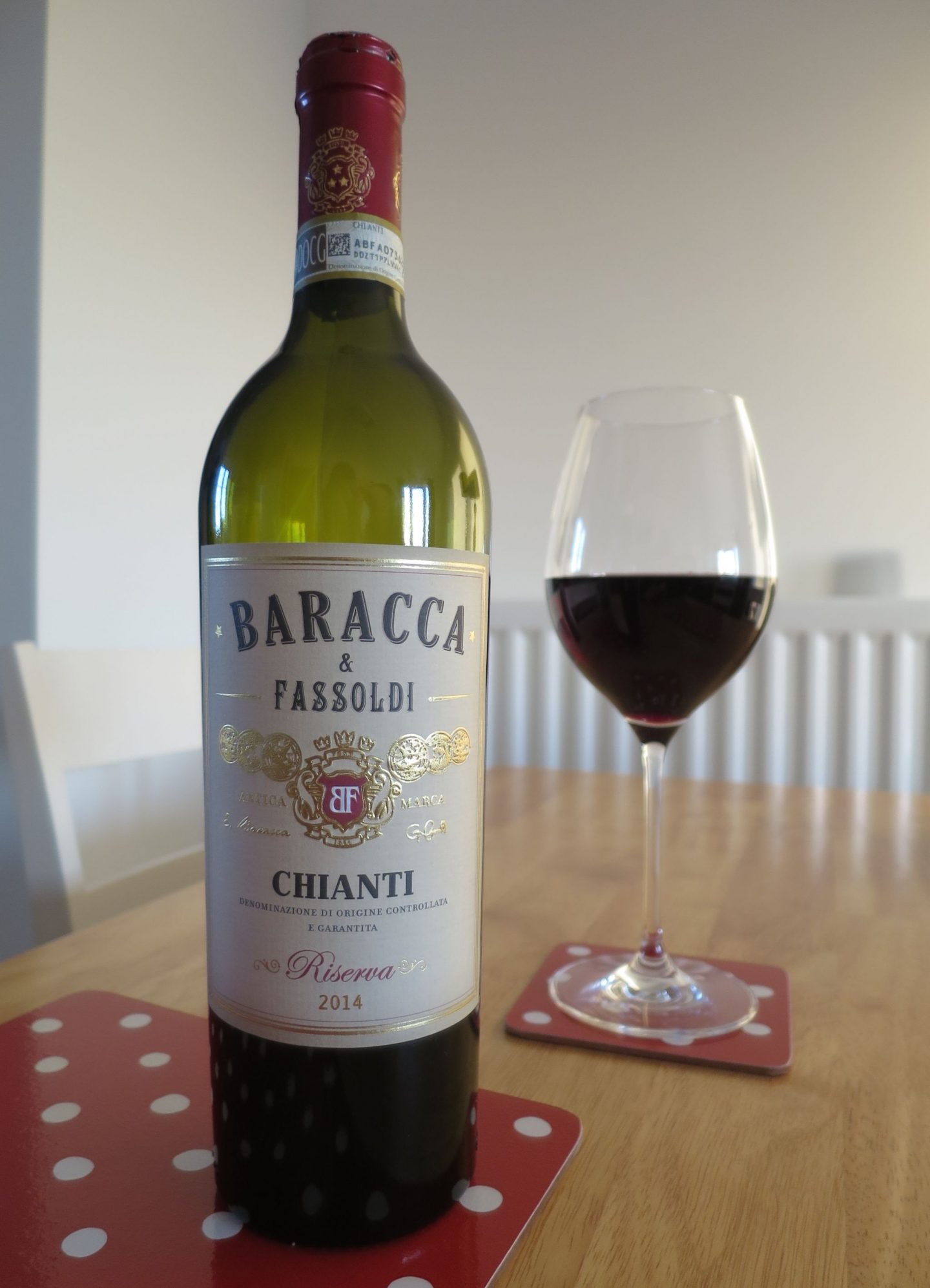 Marks and Spencer Baracca & Fassoldi Chianti Red Wine