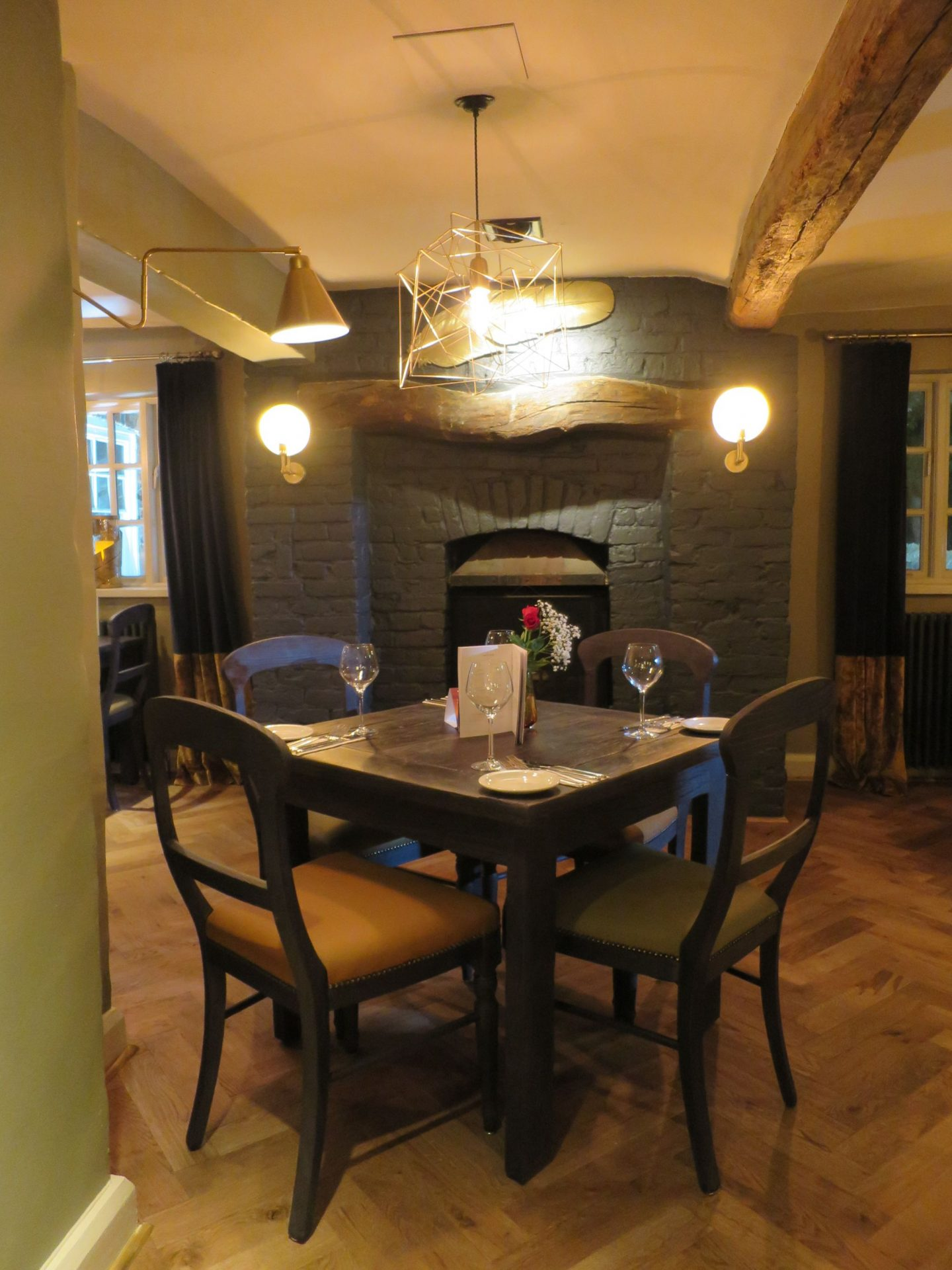 Dining Area at The Black Horse Great Linford