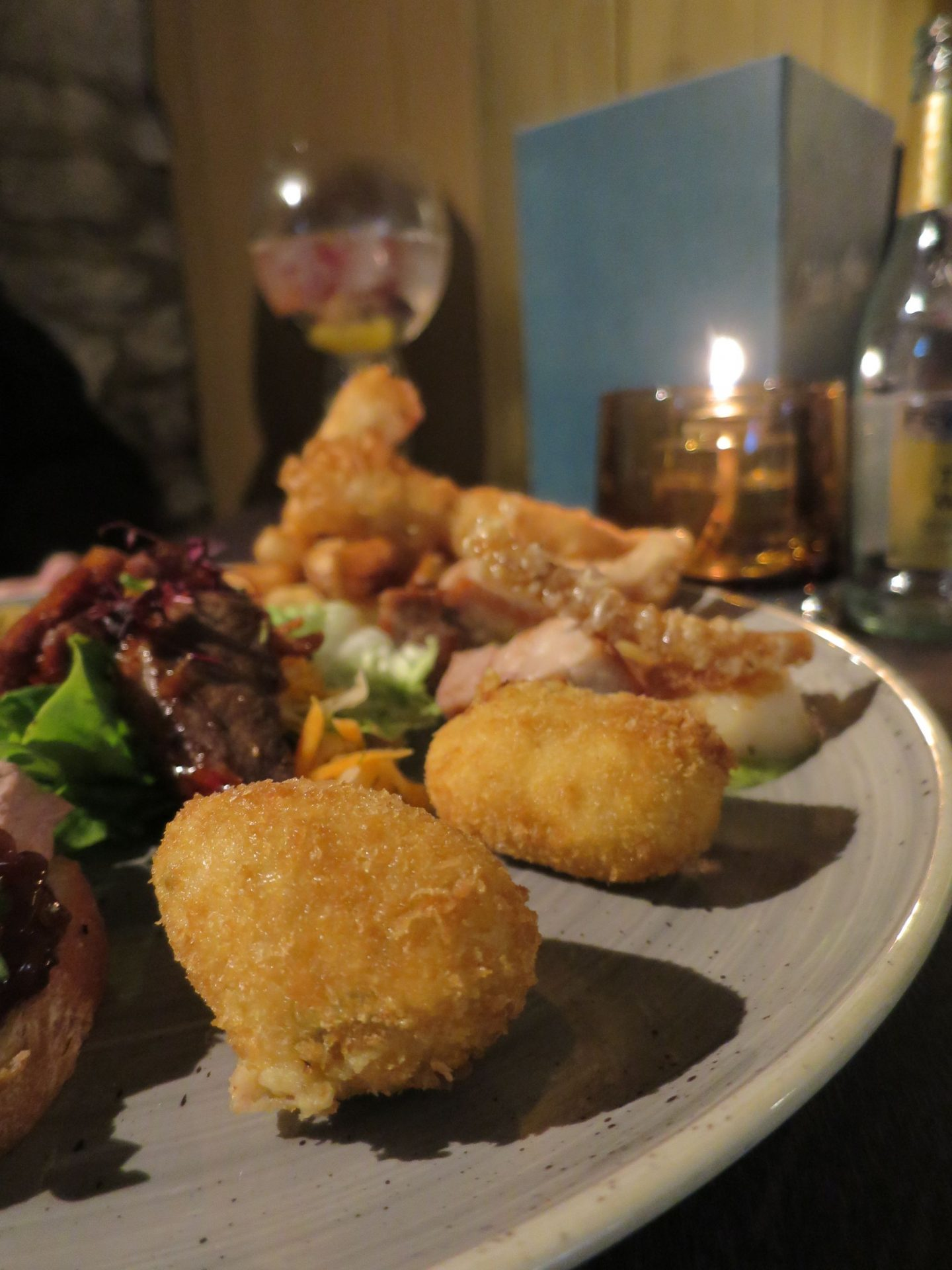 Canapes at The Black Horse Great Linford