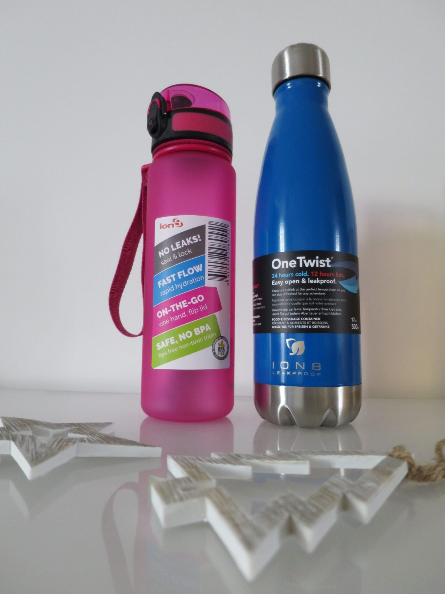 Ion8 Water Bottles